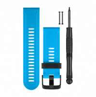 Silicone Watch Bands - Blue - For Fenix3, and Tactix Bravo - 010-12168-26 - Garmin