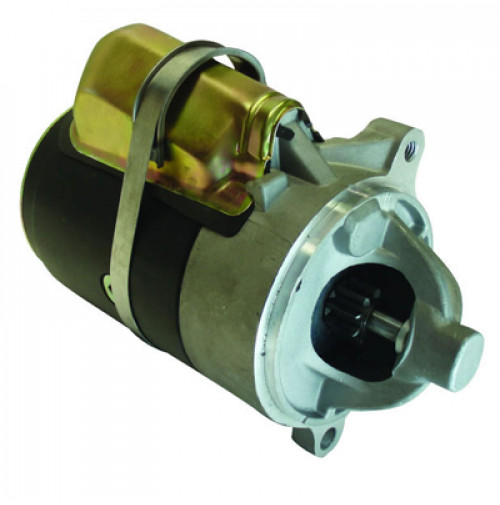 Inboard Starter for Ford 460 CI Block used on Mercuiser & OMC 1 Threaded Mounting Hole CW Rotation - 10033 - API Marine