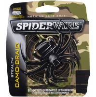 Braided Fishing Line Stealth Camo - 1345542 - SpiderWire