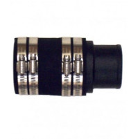 "2-1/2"" Straight Exhaust Adaptor for MerCruiser V8-283, 302, 305, 307, 327 and 350 C.I.D.  - 20-0085P  - Barr Marine"