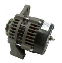 "Inboard Alternator PCM, Crusader, Indmar, Westerbeke & Others, 12V 85-Amp 2"" Mounting Foot V-Groove Pulley - 20113 - API Marine"