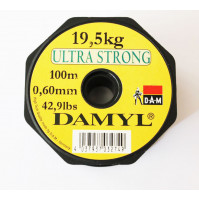 Ultra Strong Fishing Line - Grey - 100 M - 3110-020X - D.A.M