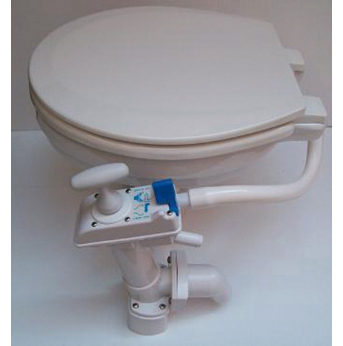 Comfort Manual 99 Toilet Soft Close - 6600200800 - Ocean Technologies