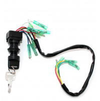 Ignition Switch Push to Choke for Yamaha and Sierra - 703-82510-43 - JSP