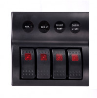 Rocker Switch with 4 Panels - AP4 - ASM