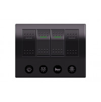 Rocker Switch with 4 Panels - AP4S - ASM