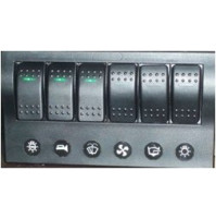 Rocker Switch with 6 Panels - AP6S - ASM
