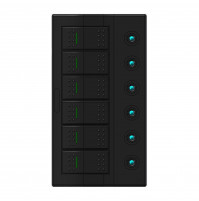 Rocker Switch with 6 Panels - AP6S/P - ASM