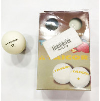 Ping Pong Balls with 1 Star - White - Pack of 6 Balls - BAL-P21010 - Creber