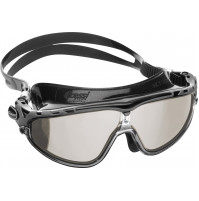 SKYLIGHT - BLACK SILICONE WITH BLACK MIRRORED LENSES - GG-CDE2034750 - Cressi