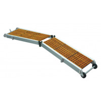 FOLDING GANGWAY WITH WOODEN GRATINGS - W310 - Sumar