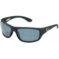 HP POLARIZED SUNGLASSES, BLACK FRAME, SMOKE LENS - HP100A-2 - Mustad