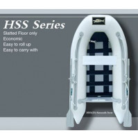 Inflatable Boat HSS SERIES, Tender only with slatted floor - IB-HSS280D-GY - ASM International