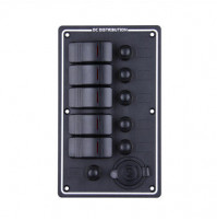 Rocker Switch with 5 Panels - LB5Z/S - ASM