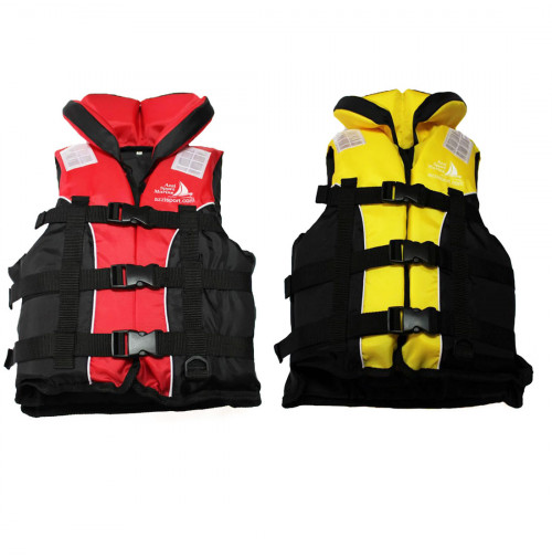 Leisure Foam Life Jacket - European Safety Standard Approved - LJ-ANGY061X - AZZI Tackle