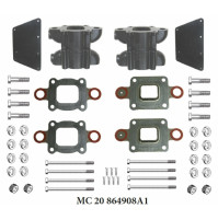 6 Inches Spacer Kit, Replaces MerCruiser part # 864908A1 for Mercruiser V8-4.3L, 5.0L, 5.7L and 6.2L - MC-20-864908A1 - Barr Marine