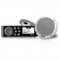 "The MS-RA70 Marine Stereo & 6"" 2-Way Speaker Pack - MS-RA70KT - Fusion"