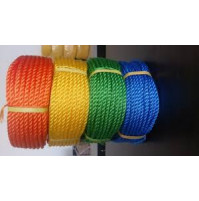 Polyethylene Rope - 3 Strands - Z Twist - From 3mm to 6mm - PE-T3BLX - AZZI Tackle