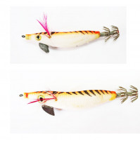 Super Floating Squid Jig with Plomb - Size 2.0 & 2.50 - Orange Color - S50-2X  - AZZI Tackle