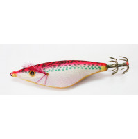 Plastic Squid Jig without Plomb - Dotted Red - S59 - AZZI Tackle