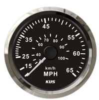 Speedometer Gauge - Model - CPOB - 0~65MPH - SS 316 - KY18004 - Kusauto