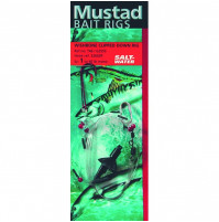 Terminal Tackle - WISHBONE CLIPPED DOWN RIG - T46 - Mustad