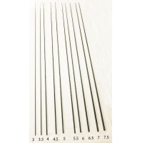 Empty Tips for Telescopic Carbon Rod - TIP030EX - AZZI Tackle