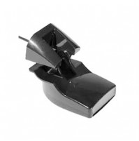 Transducer Plastic Transom Mount [Depth, Temperature, Dual Frequency, 8-pin) - 010-10272-10 - Garmin