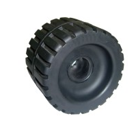 4-3/8'' Ribbed Wobble Roller - WR1307 - Multiflex