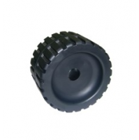 5'' Ribbed Wobble Roller With Nylon Side Bushes - WR1310 - Multiflex