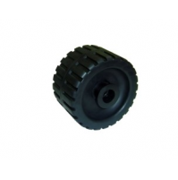 5'' Ribbed Wobble Roller With Nylon Side Bushes - WR1311 - Multiflex