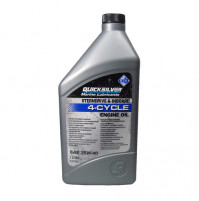 Marine Engine oil - 4-Cycle - for Sterndrive and Inboard - 1 Liter - (25W-40) - 858048QB1 - Quicksilver