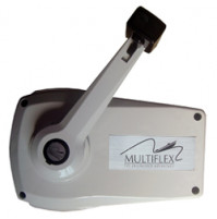 Side Mount Lever - White (with Plastic Housing) LM-V-6 - Multiflex