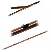 6.7mm Rockwell Stainless Steel Tahitian Shaft 3 Pin Triface one Barb - SH-B171936X  - Beuchat