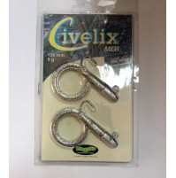Civelix - Silver spangled/ SG Color - 80 MM - 3g - RG3930034 - Ragot