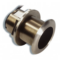 Bronze Tilted Thru-hull Transducer with Depth & Temperature (20° tilt, 8-pin) - Airmar B60 - 010-10982-20 - Garmin