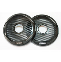 "4"" Black Grille to suit MS-FR4021 Speakers, Pair - 010-01644-00 - Fusion"