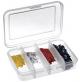 Fishing Polypropylene Box, 4 compartments - 102-4C - Plastica Panaro