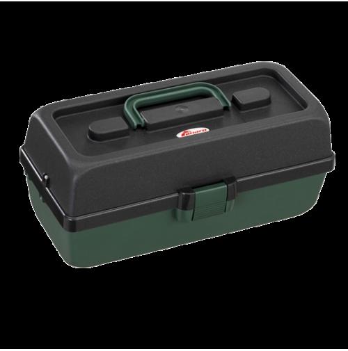 Polypropylene Tackle Box, with 2 shelves - 118-2T - Plastica Panaro