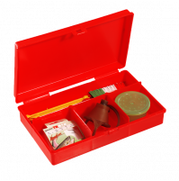 Red Tackle Box Polypropylene - 142 - Plastica Panaro