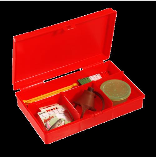 Red Tackle Box Polypropylene - 142 - Plastica Panaro