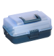 Polypropylene Tackle Box, with 2 shelves - 143 - Plastica Panaro
