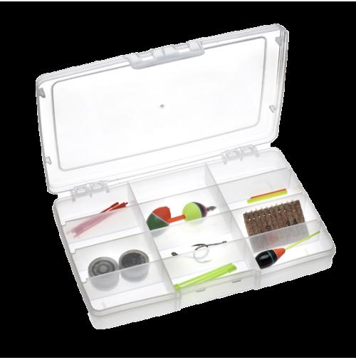 Transparent Tackle Box Polypropylene - 191 - Plastica Panaro
