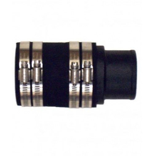 "2-1/2"" Straight Exhaust Adaptor for MerCruiser V8-283, 302, 305, 307, 327 and 350 C.I.D.  - 20-0085P  - Barr Marine"