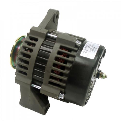 """Inboard Alternator PCM, Crusader, Indmar, Westerbeke & Others, 12V 85-Amp 2"""" Mounting Foot V-Groove Pulley - 20113 - API Marine"""