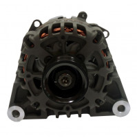 """Inboard Alternator for Volvo 8.1L 12V 70-Amp Dual 2"""" Mounting Feet 6-Groove 67mm Serpentine Pulley, Replaces Volvo # 3862613 - 20120 - API Marine"""