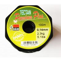 TECTAN Premium Plus Fluorocarbon Fishing Line - Clear - 100 M - 3200-008X  - D.A.M