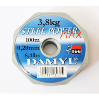 Steel Power Max Fishing Line - Clear - 100 M - 3411-012X - D.A.M