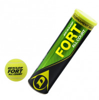 Fort All Court Tennis Ball - Can of 3 balls - 5013317102348 - Dunlop