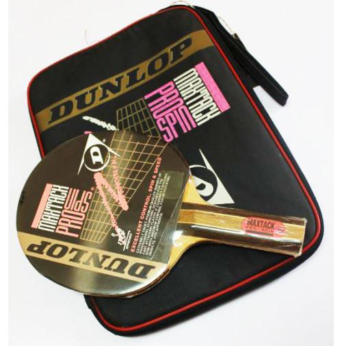 MaxTack Pro Spin Ping Pong Racket - 5013317301505 - DUNLOP